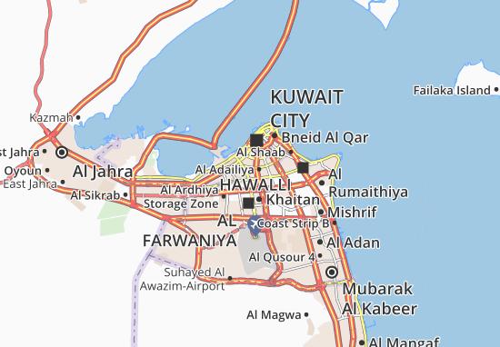 Carte-Plan Al Khaldiya