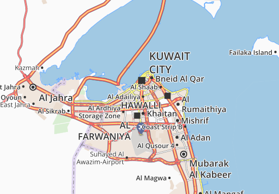 Carte-Plan Al Khaldiya 2