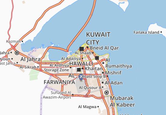 Carte-Plan Al Faiha 8