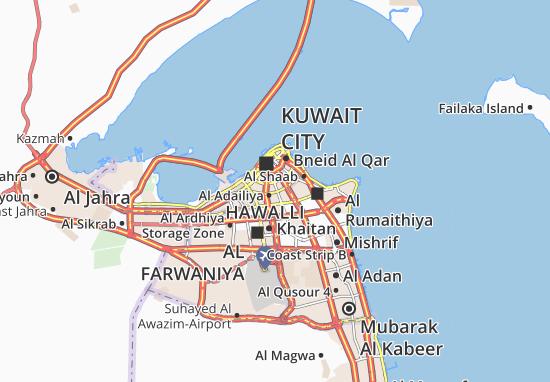 Carte-Plan Al Faiha 9