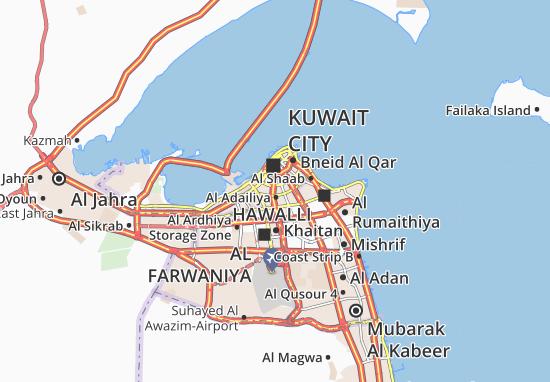 Kaart Plattegrond Al Faiha 4