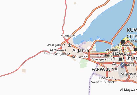 Al Jahra 4 Map