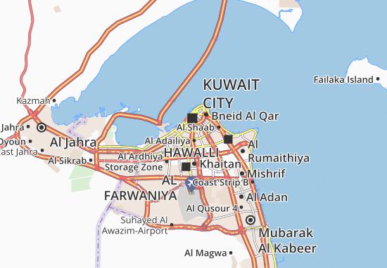Kaart Plattegrond Al Faiha 1