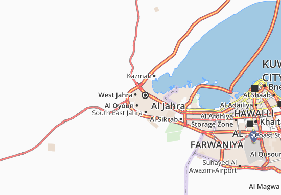Al Jahra 5 Map