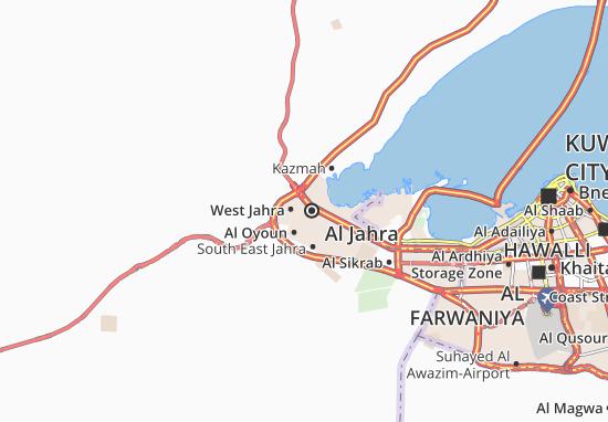 Mapas-Planos Al Jahra 3