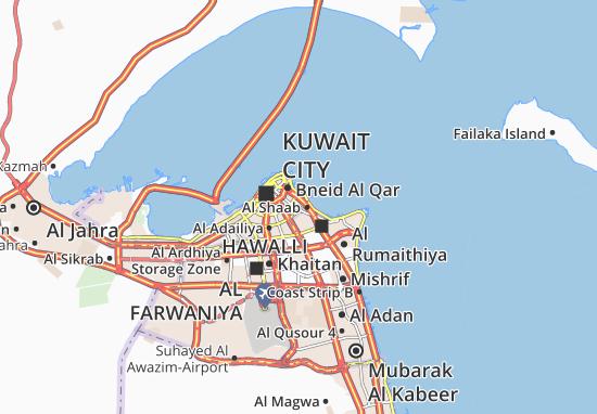 Carte-Plan Al Daiyah 3