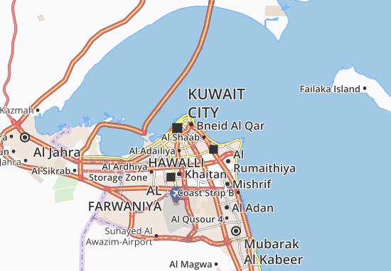 Carte-Plan Al Daiyah 1