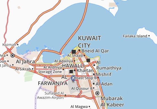 Kaart Plattegrond Al Mansouriyah