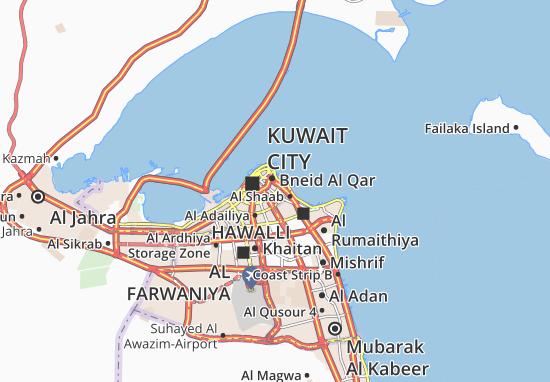 Carte-Plan Al Dasma 5