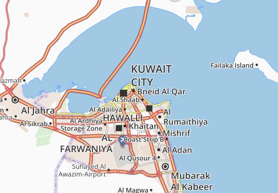 Carte-Plan Al Daiyah