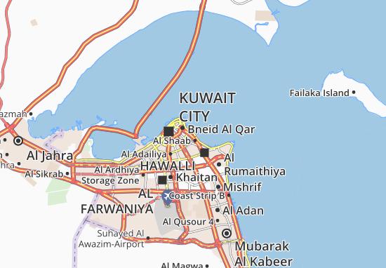 Carte-Plan Al Daiyah 5