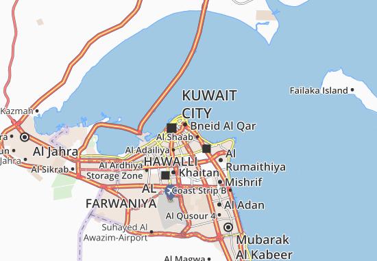 Carte-Plan Al Dasma 6