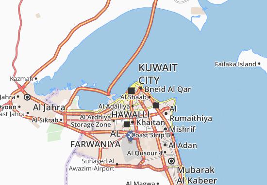 Al Mirqab 1 Map