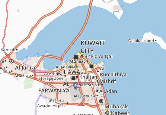 Carte-Plan Al Dasma 3