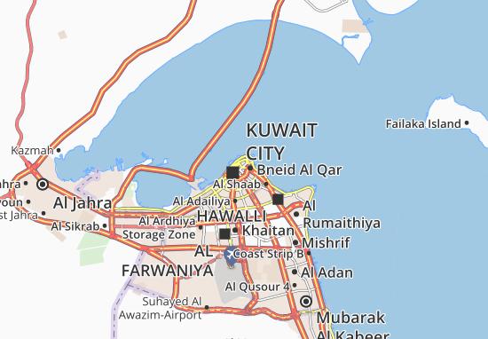 Al Mirqab Map