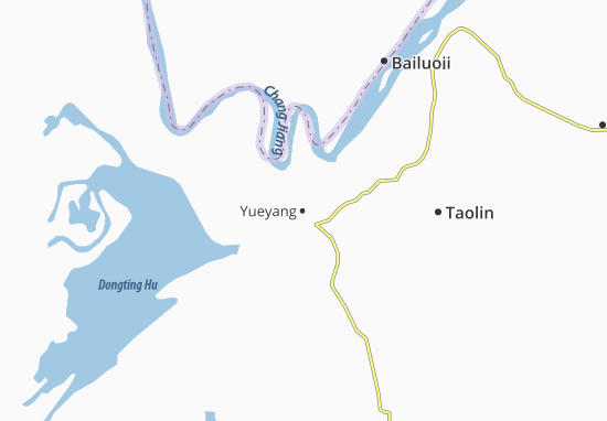 Mappe-Piantine Yueyang