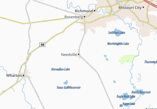 Needville Map