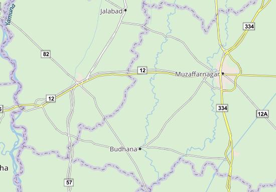 Kaart Plattegrond Sisauli
