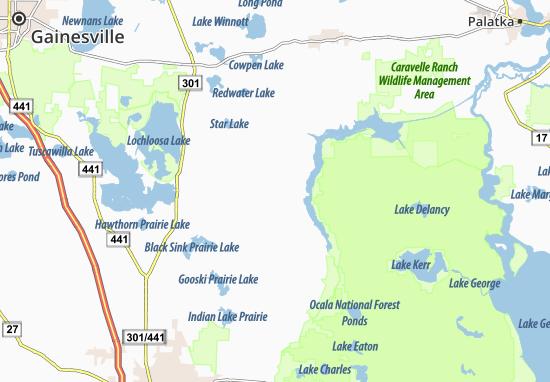 Carte-Plan Bay Lake