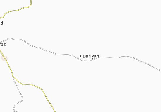Kaart Plattegrond Dariyan