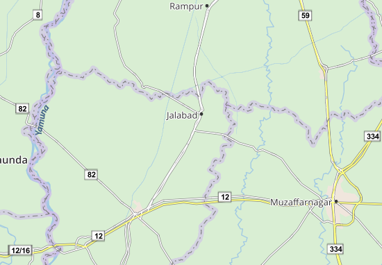 Thana Bhawan Map