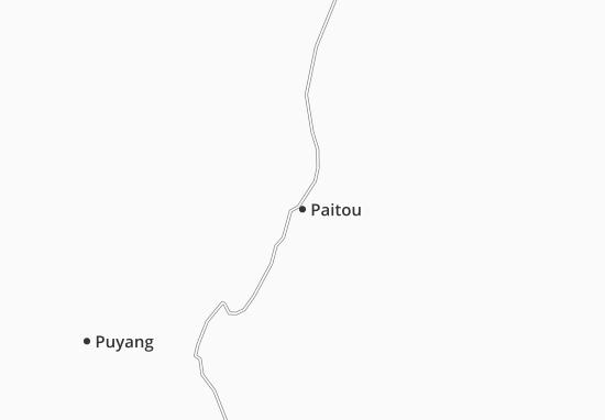 Carte-Plan Paitou