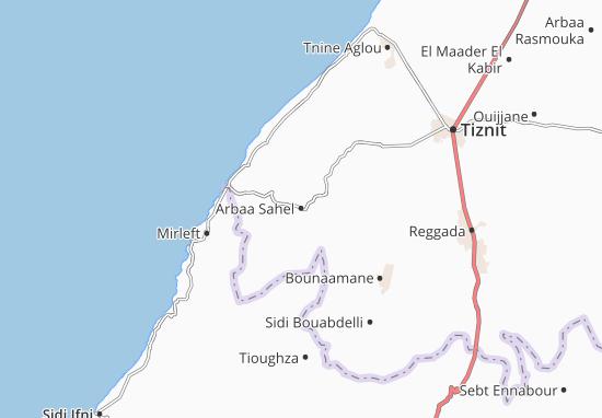 Carte-Plan Arbaa Sahel