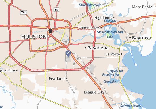 Mappe-Piantine South Houston