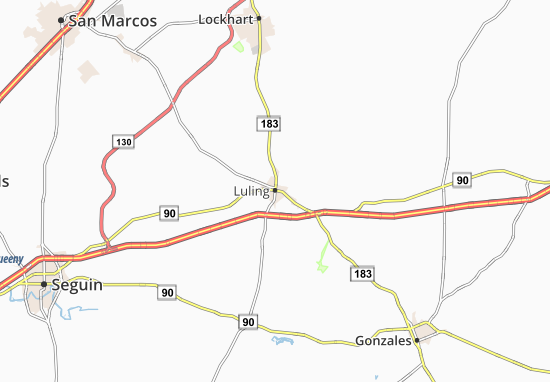 Luling Map