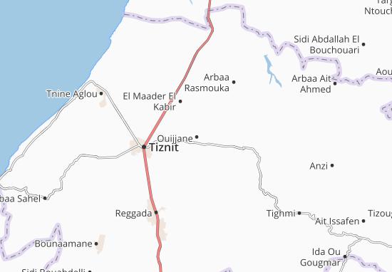 Mapas-Planos Ouijjane