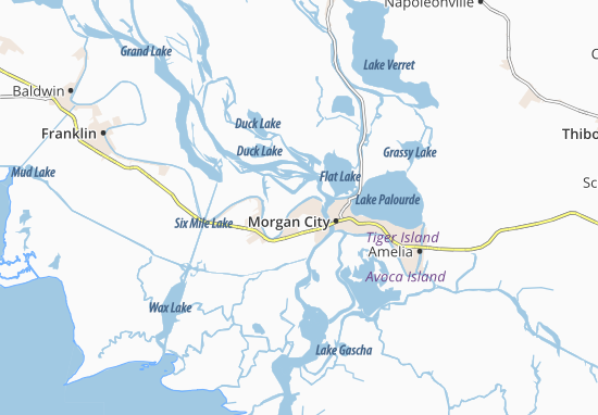 Carte-Plan Glenwild
