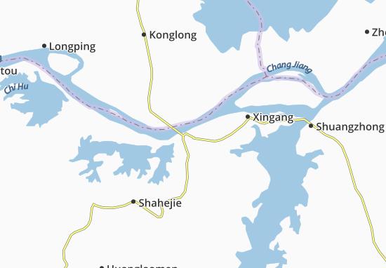 Mapas-Planos Jiujiang