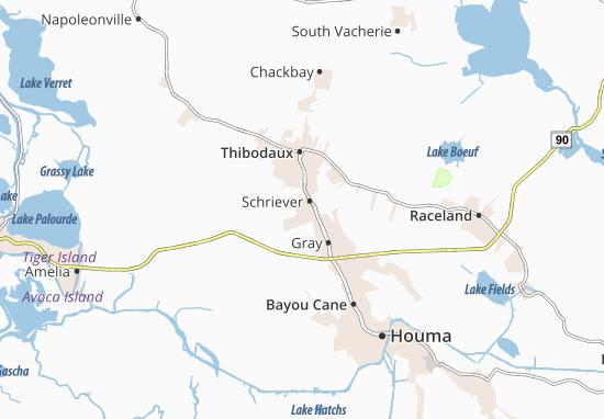 Schriever Map
