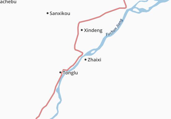 Zhaixi Map