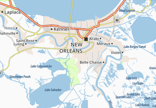 Marrero Map