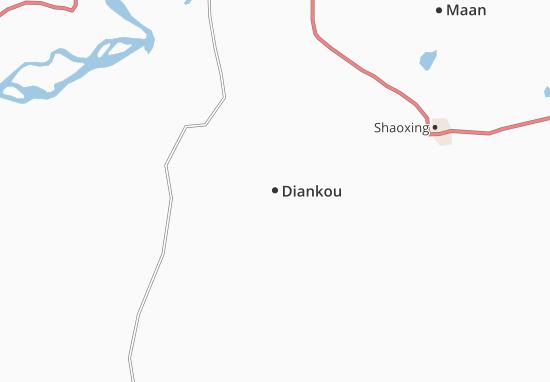 Mapas-Planos Diankou
