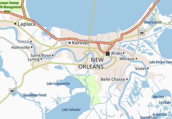 Bridge City Map