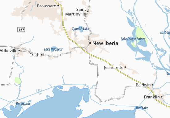 Iberia World Map.Port Of Iberia Map Detailed Maps For The City Of Port Of Iberia