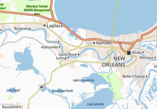 Mapas-Planos Saint Rose
