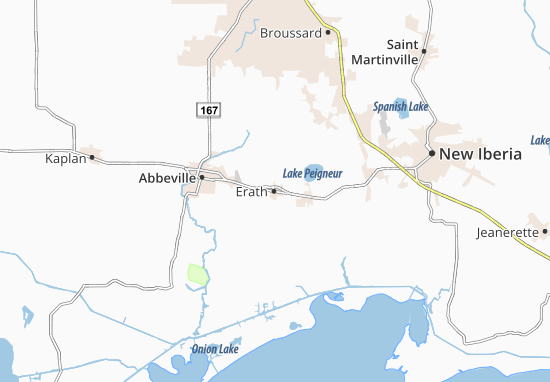 Erath Map
