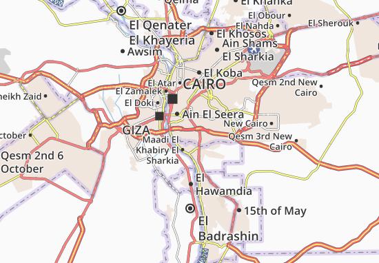 El Basateen Map