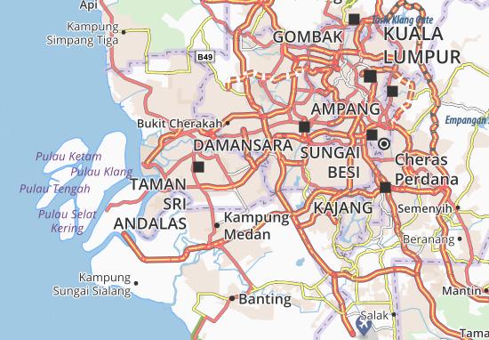 Mappe-Piantine Shah Alam