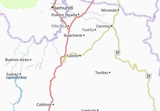 Carte-Plan Caloto