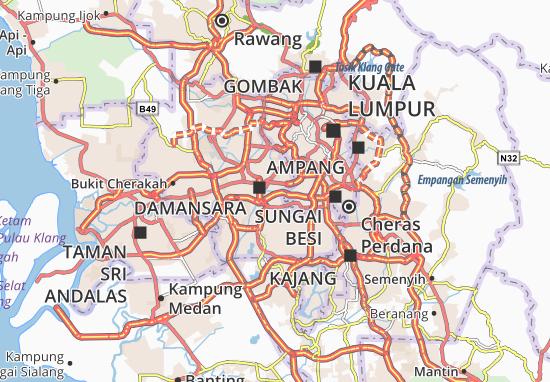 Mapas-Planos Petaling