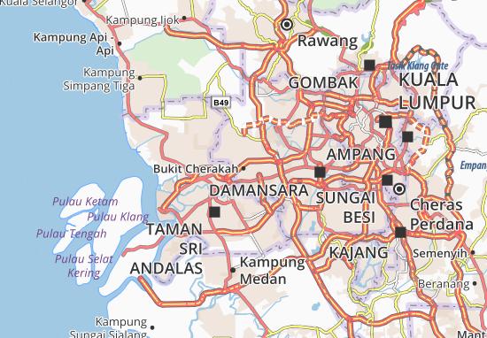 Mapas-Planos Bukit Cherakah