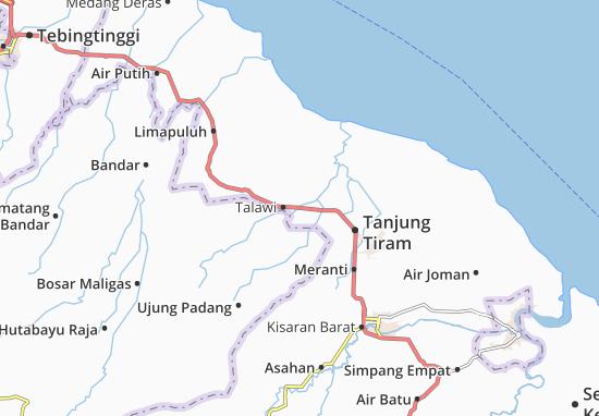 Carte-Plan Talawi