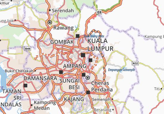 Bukit Bintang Map: Detailed maps for the city of Bukit Bintang ...