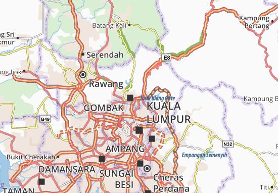 Gombak Map