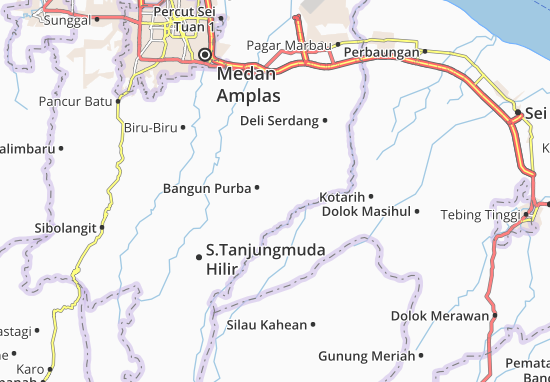 Mapas-Planos Bangun Purba