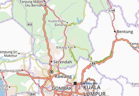 Ulu Yam Map